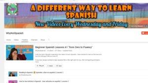 Beginner Spanish Workbook A1 & A2 Ebook - WhyNotSpanish com