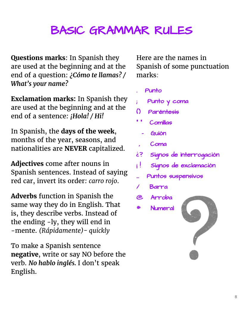 Workbooks learn spanish workbook pdf : Beginner Spanish Workbook A1 & A2 Ebook - WhyNotSpanish.com