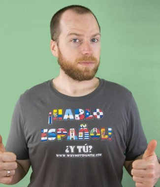 Hablo EspañolT-shirt : Unisex Short Sleeve