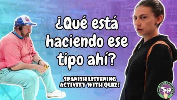 Spanish Listening Activity: En el aeropuerto - ¡Quiz al final!