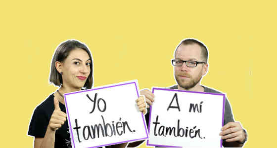 How to use también and tampoco